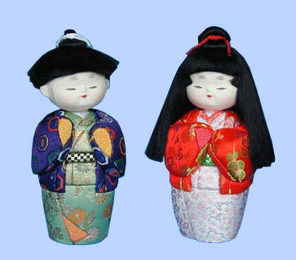 Kimekomi Doll #109 A pair of OASANA-NAJIMI