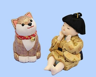 Kimekomi Doll #490i-DOG SATO-NO-YUME WITH DOG