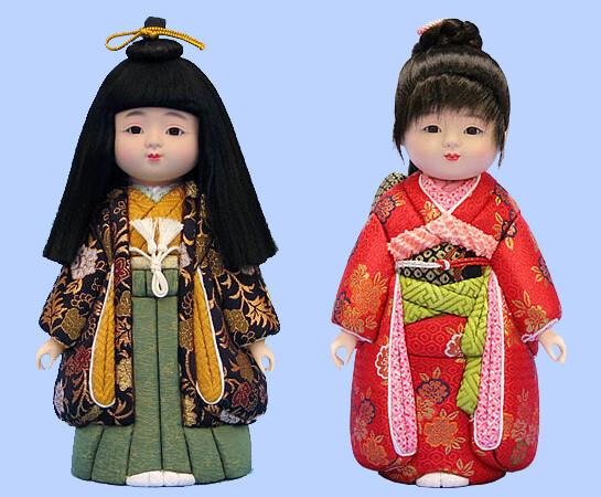Kimekomi Doll #761 A pair of ICHIMA