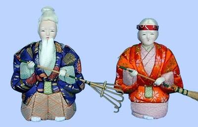 Kimekomi Doll #755 A pair of MAME-TAKASAGO