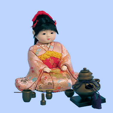 Kimekomi Doll #793 Sitting OTEMAE