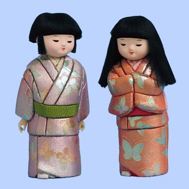 Kimekomi Doll #718 A pair of AISOME