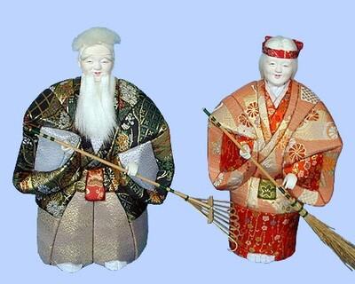 Kimekomi Doll #652 A pair of KISSHO-TAKASAGO