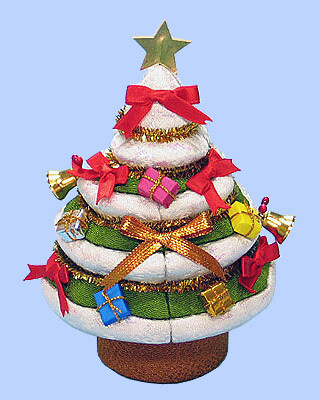 Kimekomi Doll #210 CHRISTMAS TREE