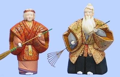 Kimekomi Doll #125 A pair of AIOI-TAKASAGO-LARGE