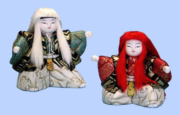Kimekomi Doll #149 A pair of RENJISHI 8