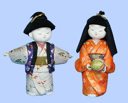 Kimekomi Doll #132 A pair of TOSENBO