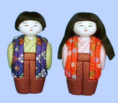 Kimekomi Doll #114 A pair of OBOKO