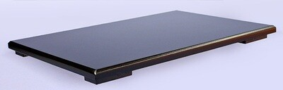 Black-lacquered Board Stand 36x24