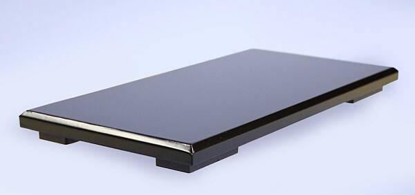 Black-lacquered Board Stand 36x18