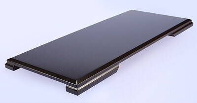 Black-lacquered Board Stand 45x20