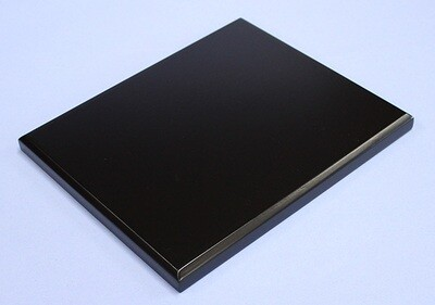 Black-lacquered Board Stand 18x15