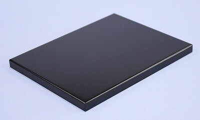 Black-lacquered Board Stand 15x12
