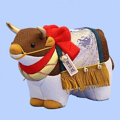 New year animal OXEN KAIUN #12
