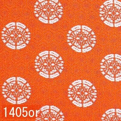 Japanese woven fabric Kinran  1405or