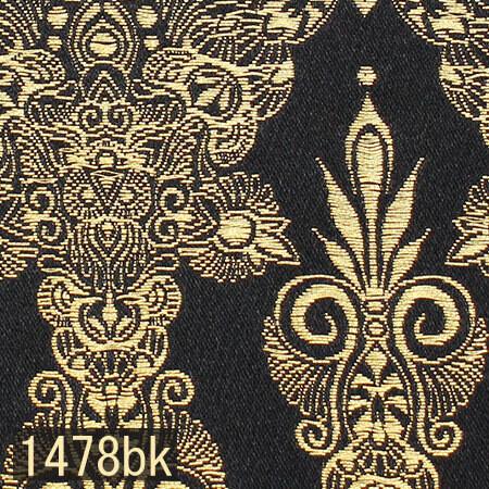 Japanese woven fabric Kinran  1478bk
