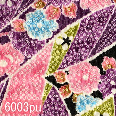 Japanese woven fabric Chirimen  6003pu