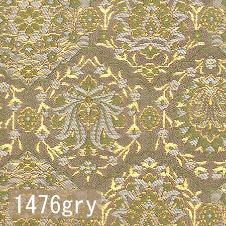 Japanese woven fabric Kinran  1476gry