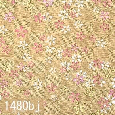 Japanese woven fabric Kinran  1480bj