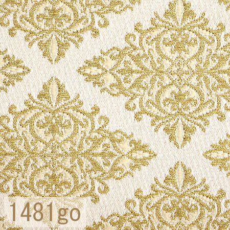 Japanese woven fabric Kinran  1481go
