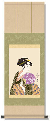 The three beutiful women of Kansei period Code: hng-scrl_g2-003