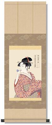 The three beutiful women of Kansei period Code: hng-scrl_g2-004