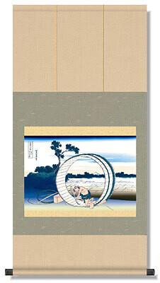 Oke-ya and Mt.Fuji of Fugaku 36 kei Code: hng-scrl_g2-091