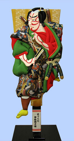 Kabuki Hagoita TACHI-SUGATA OTOKO-NO-SUKE
