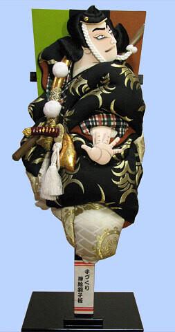 Kabuki Hagoita ROPPO-BENKEI