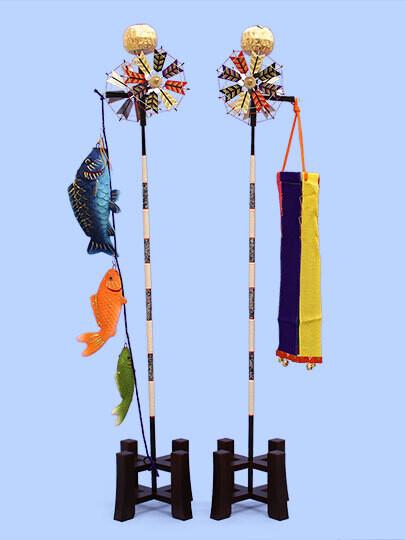"Gogatsu Doll's decoration ""KOINOBORI display #25"""