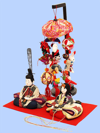 "Kimekomi Hina Dolls ""KASUGA"" Display Set"