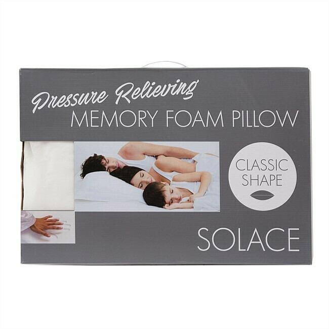 Solace Memory Foam Pillow