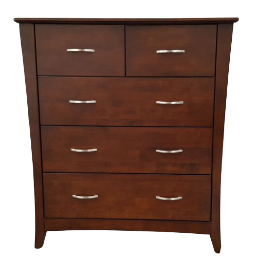 Country 5 Drawer Wenge Tallboy
