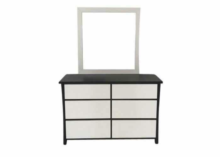Dyna Dresser with Mirror 6 Drawer