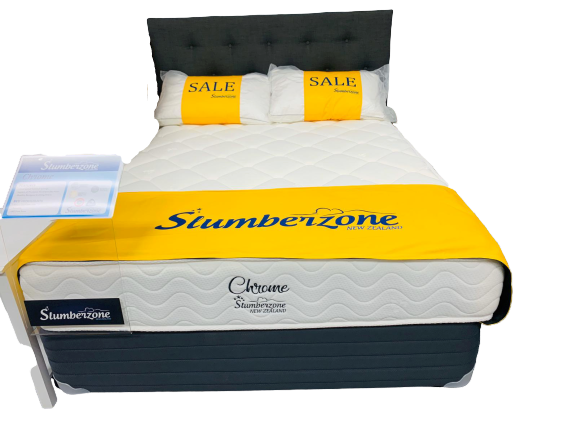 Slumber Zone Chrome Mattress Only