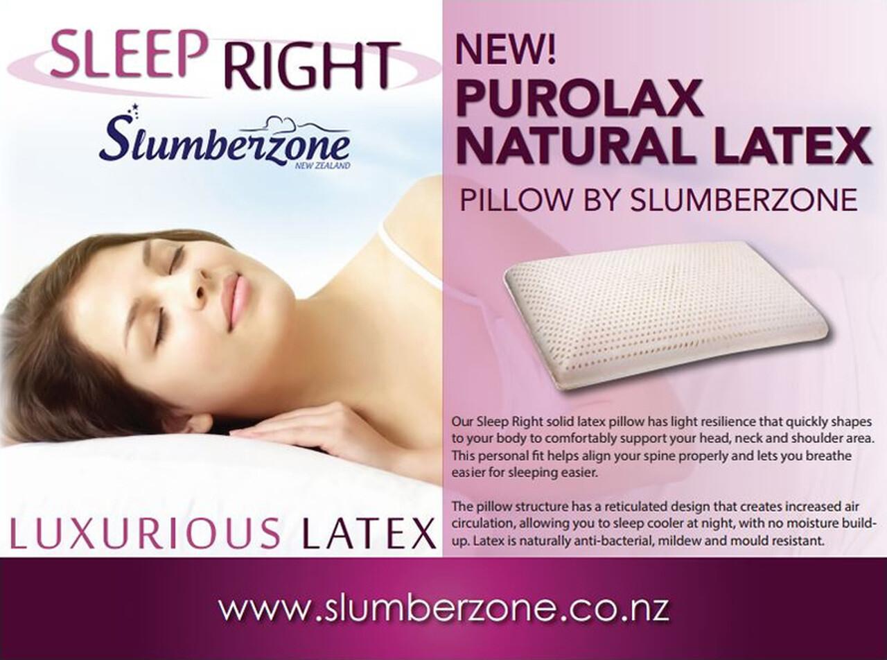 Purolax Latex Pillow Contour