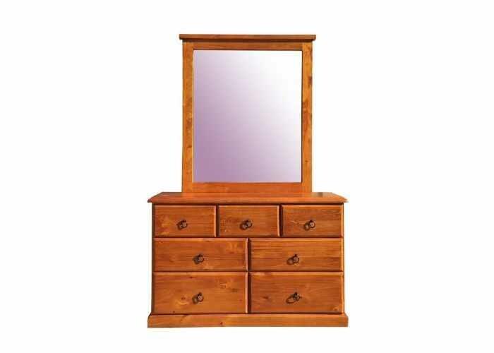 Maven Dresser with Mirror 7 Drawer