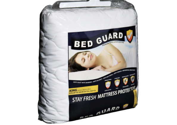 Slumberzone Bed Guard Quilted