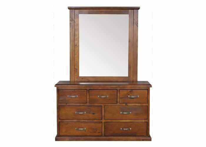 Shrub Dresser with Mirror 7 Drawer