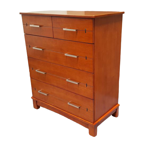 Watty 5 Drawer Wenge Tallboy