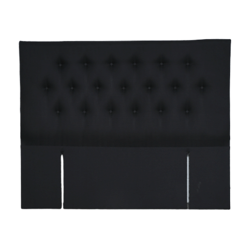 Fabric Upholstered Full Button Headboard