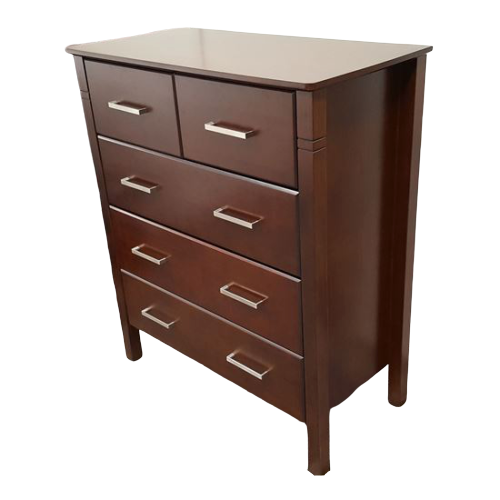 Jessie 5 Drawer Wenge Tallboy