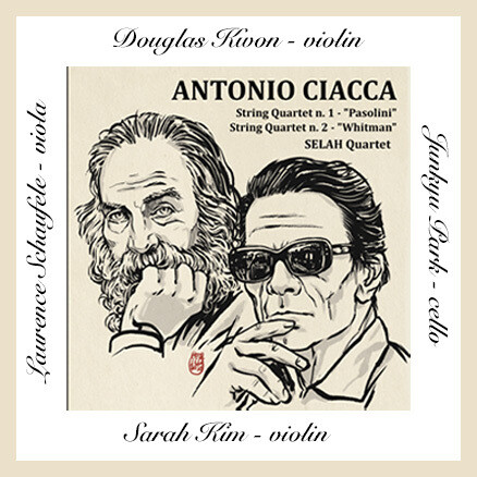 Antonio Ciacca/Selah String Quartet CD