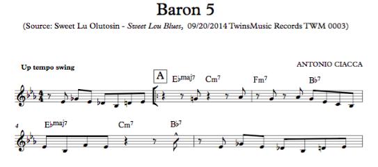 Baron 5 (Lead Sheet)