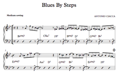 Blues By Steps (Lead Sheet)