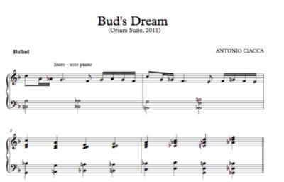 Bud's Dream (Lead Sheet)