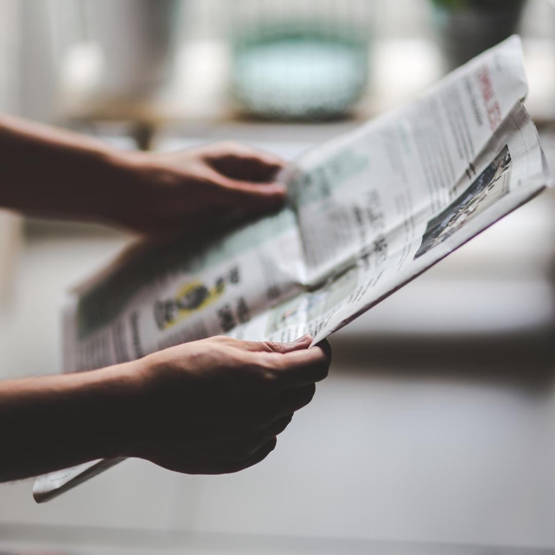 Newspaper Scrolling