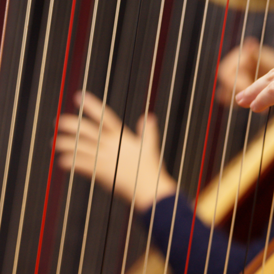 With A Harp