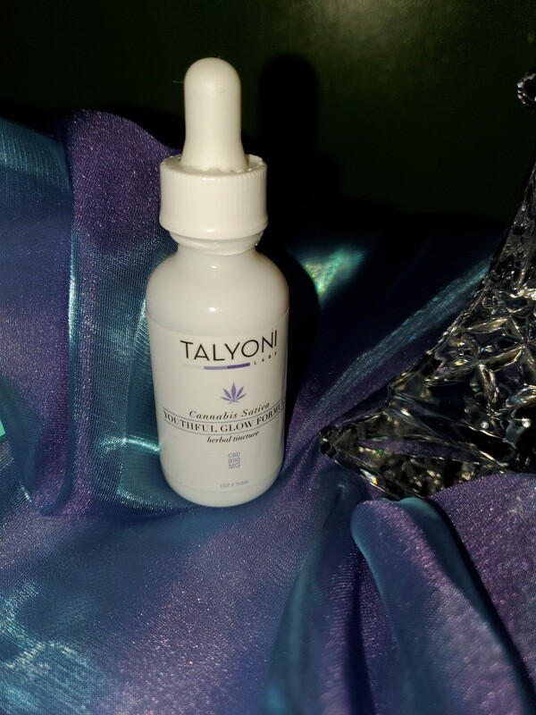 Talyoni Labs-Youthful Glow Cannabis Tincture
