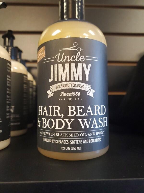 Uncle Jimmy- Hair,Beard & Body Wash